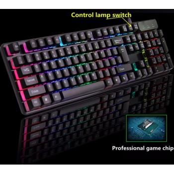 Led Tastatura KR-6300 - Crna
